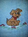 LITTLE DOG PERSONALISED TOWEL SET